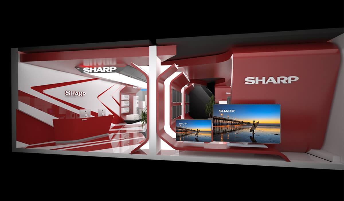 Sharp Showroom